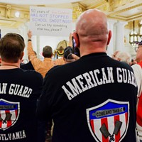 State Rep. Daryl Metcalfe's pro-gun rally attracted support of group with white-supremacist origins