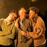 Dylan Marquis Meyers, Ken Bolden and Max Pavel in <i>Orphans</i>