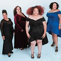 Models of Voluptuous Lady Boutique