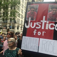 Pittsburgh rally for police-shooting victim Antwon Rose begs people to get politically involved