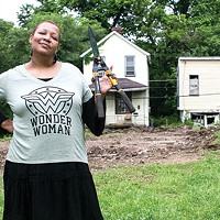 Raquee Bey, founder of Black Urban Gardeners and Farmers of Pittsburgh co-op