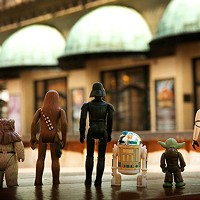 The cast of <i>Star Wars</i> arrives at Heinz Hall
