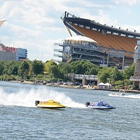 Formula 1 Powerboats at EQT Pittsburgh Three Rivers Regatta