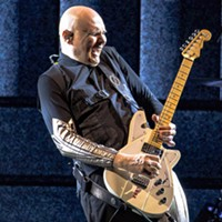 Smashing Pumpkins singer Billy Corgan at PPG Paints Arena on Sat., Aug. 4, 2018