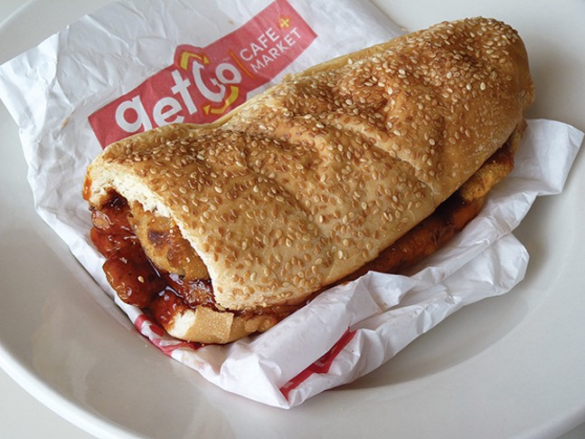 The General sandwich from GetGo - CP PHOTO BY JARED WICKERHAM