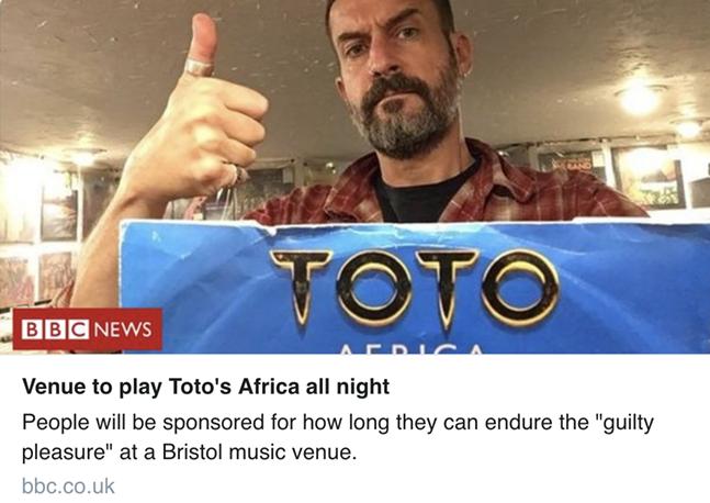 SCREENSHOT OF BBC RADIO 6 TWEET
