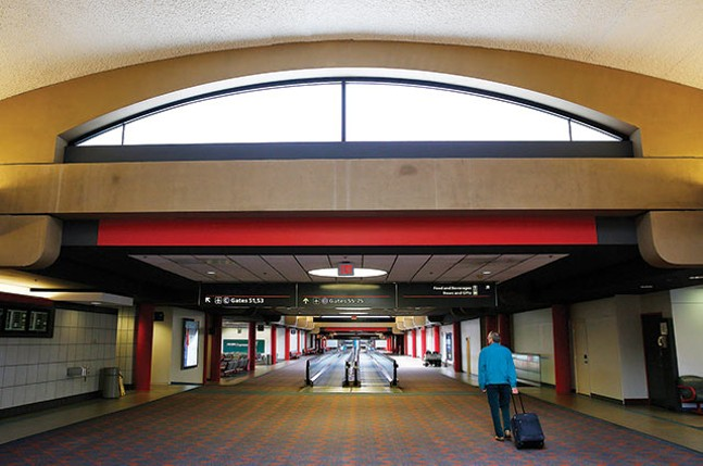 Pittsburgh International Airport, 2014 - CP PHOTO BY JARED WICKERHAM