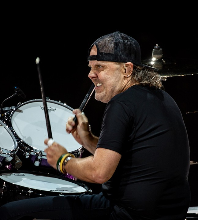 Lars Ulrich - CP PHOTO: MIKE PAPARIELLA