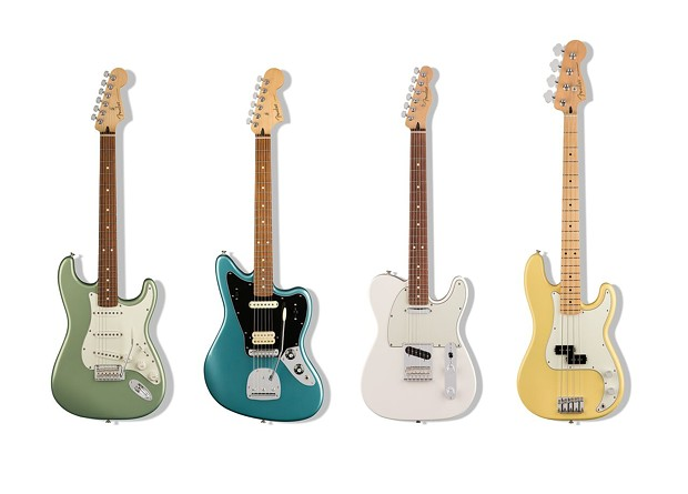 Fender Player Series available at fender.com - PHOTO: FENDER PLAYER SERIES