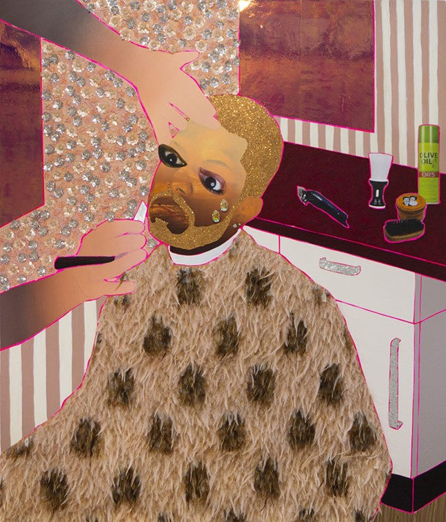 Devan Shimoyama's Sit Still - COURTESY OF JIM SPENCER AND MICHAEL H. LIN