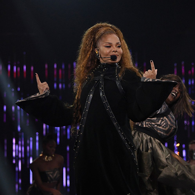 Janet Jackson at MTV Europe Music Awards - PHOTO: MTV EMAS
