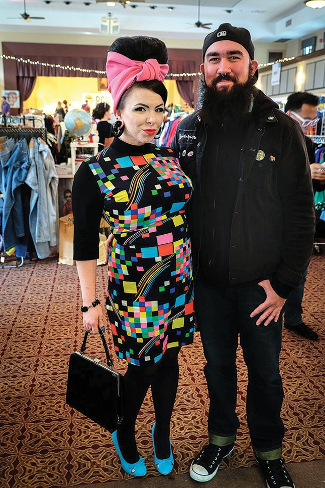 Retro fashion at Pittsburgh Vintage Mixer - BESS DUNLEVY/PITTSBURGH VINTAGE MIXER