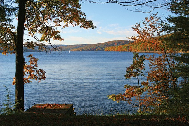 On the lake at Deep Creek, Maryland - TIMOTHY JACOBSEN, GARRETT COUNTY CHAMBER OF COMMERCE