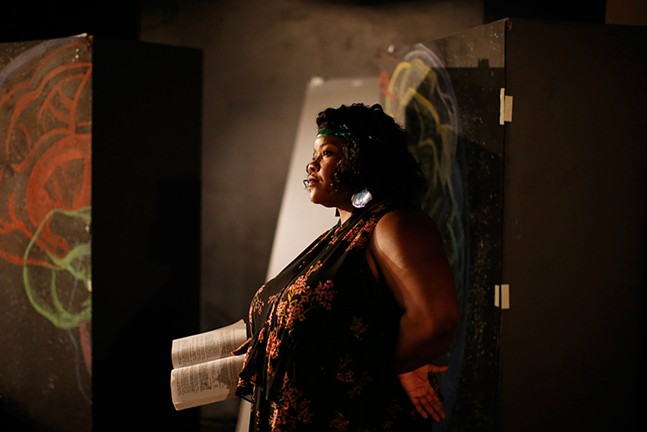 Vanessa German in character as Ma Rainey in August Wilson's Ma Rainey's Black Bottom in September - CP PHOTO: JARED WICKERHAM