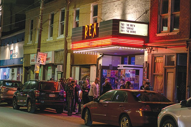 Venue Guide Rex Theater Venue Guides Pittsburgh Pittsburgh City Paper