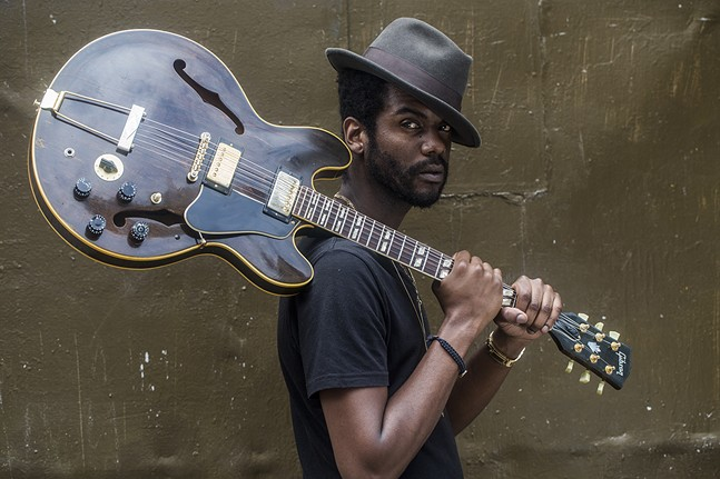 Gary Clark Jr - PHOTO: JONATHAN MANNION FOR WAX POETICS
