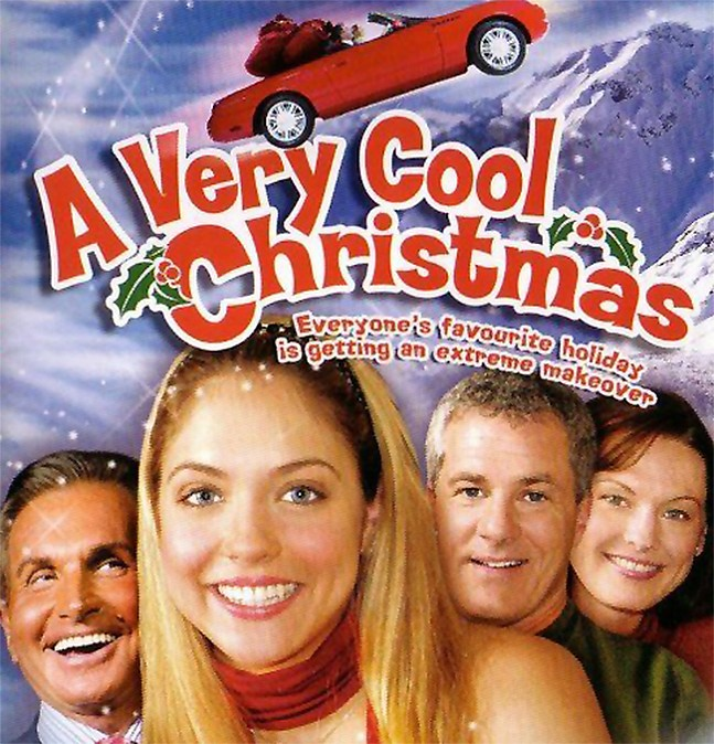 Spoiler: It's not that cool. - A VERY COOL CHRISTMAS DVD COVER