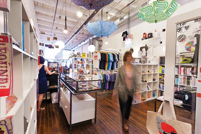 The Mattress Factory store includes items from Pittsburgh artists. - PHOTO: MATTRESS FACTORY