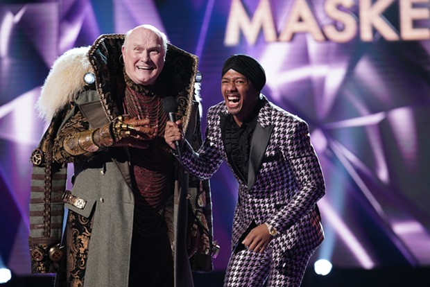 On Wednesday's Masked Singer, another unmasking, another Steeler