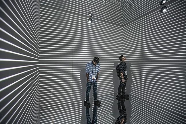 Infinity Room at Wood Street Galleries - REFIK ANADOL