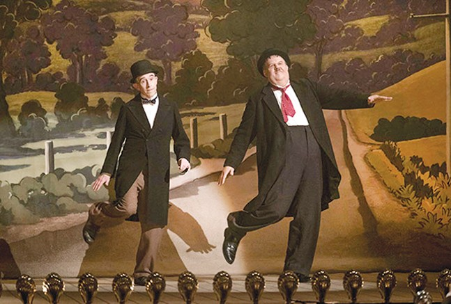 Steve Coogan and John C. Reilly as Laurel and Hardy - NICK WALL/SONY PICTURES CLASSICS