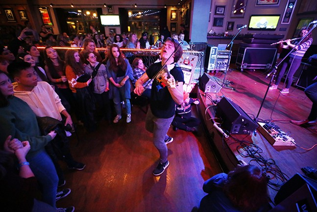 Snowdonia at Hard Rock Cafe during CP's Battle of the Bands - CP PHOTO: JARED WICKERHAM