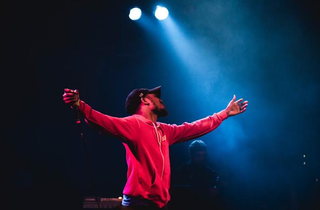 Mars Jackson performing at Pittsburgh's Very Own - MARS JACKSON'S TWEET: @JUSTINBOYDPHOTO