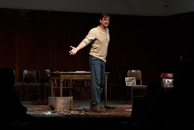 Andrew W. Smith in The Gun Show - PHOTO: SARAH SCHRECK