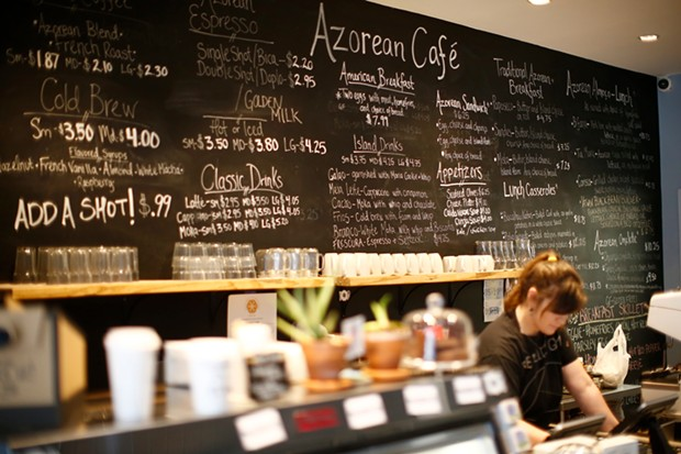 Azorean Cafe in Bloomfield - JARED WICKERHAM