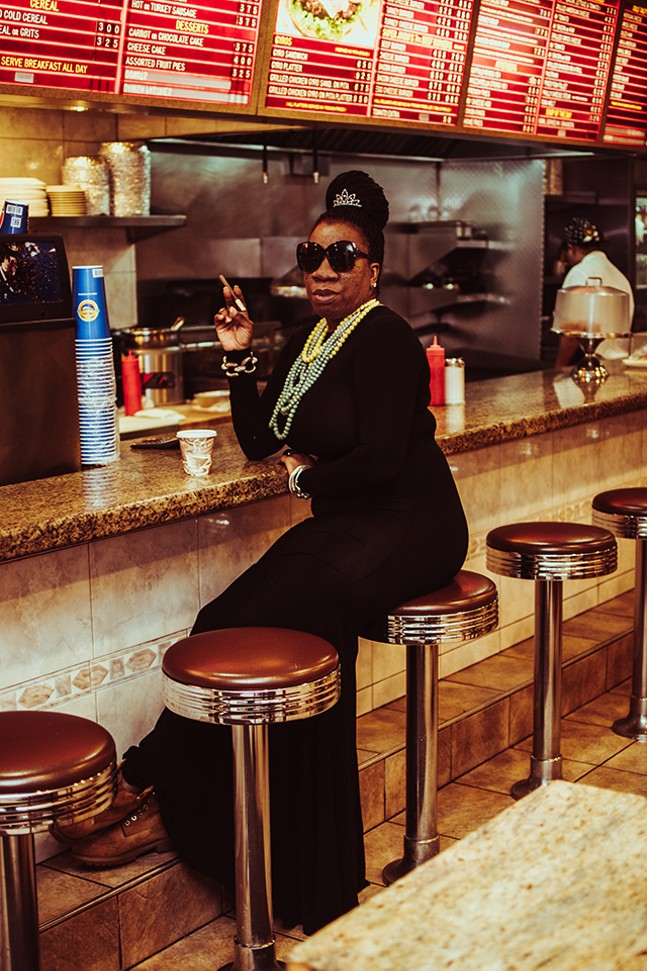 Tarana Burke featured in a piece from the American Woman series - PHOTO: SARAH HUNY YOUNG
