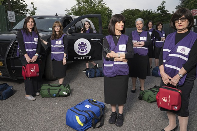 Documentary 93 Queen follows ultra-orthodox women creating an all-female ambulance corps in Brooklyn. - ABRAMORAMA