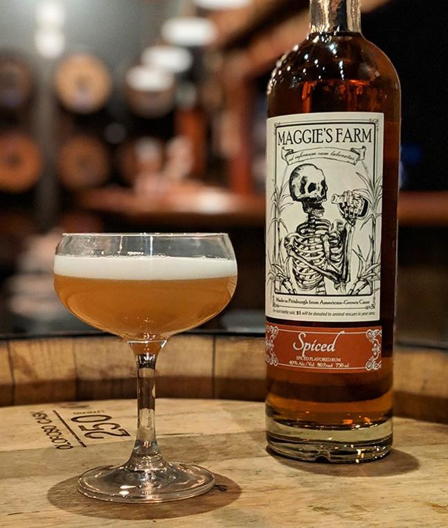 Maggie's Farm spiced rum - PHOTO: MAGGIE'S FARM