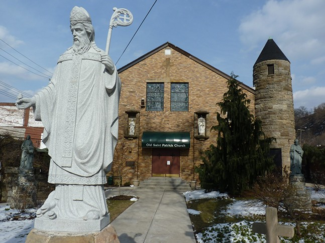 St. Patrick's Church in the Strip District - CP PHOTO: RYAN DETO
