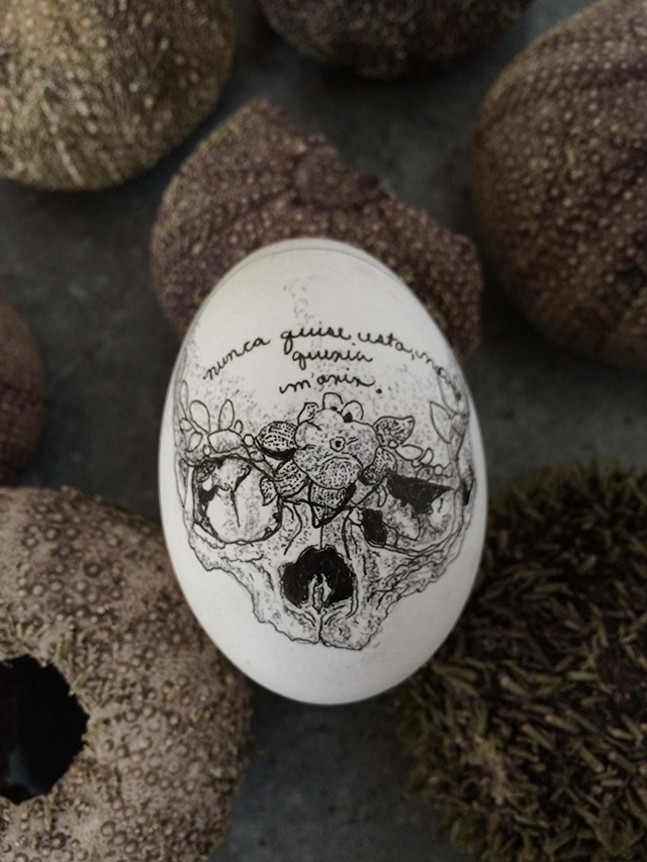 A piece from the Gifted Egg Project - ANA ARMENGOD