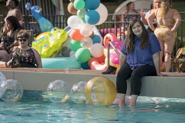 Aidy Bryant plays a fictionalized Lindy West in Shrill - ALLYSON RIGGS