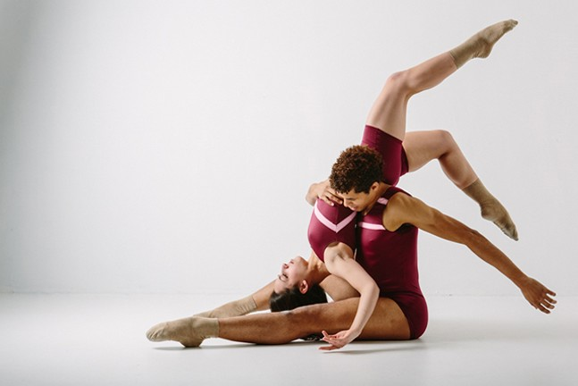 Uncharted dancers Alexandra Tiso and Alan Obuzor - MARK SIMPSON PHOTOGRAPHY