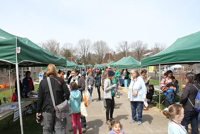 Earth Day with Pittsburgh Parks Conservancy - PITTSBURGH PARKS CONSERVANCY