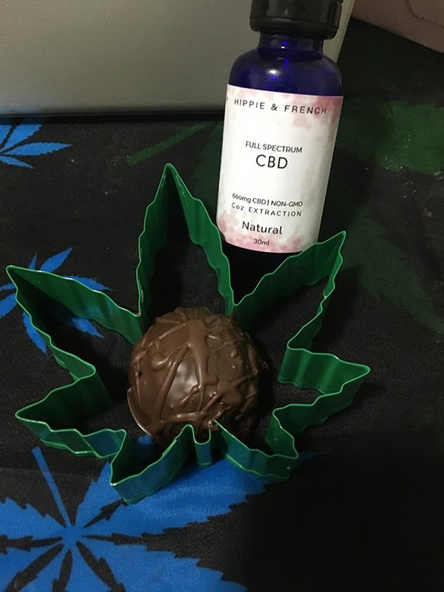 CBD truffles - TAKIA MITCHELL