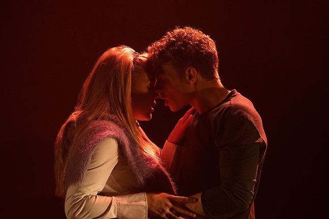 Jeffrey Kringer and Betsy Stewart in Cruel Intentions The 90s Musical - PHOTO: JENNY ANDERSON