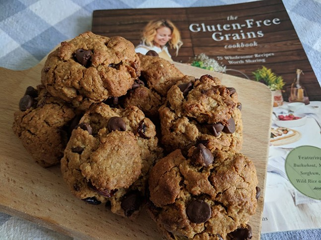 Everything Cookies from The Gluten-Free Grains cookbook - CP PHOTO: MAGGIE WEAVER