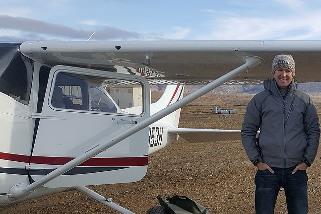 Ross Edmondson and his 1981 Cessna