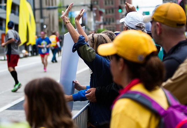 Scenes from past Pittsburgh Marathons - CP PHOTOS: LUKE THOR TRAVIS