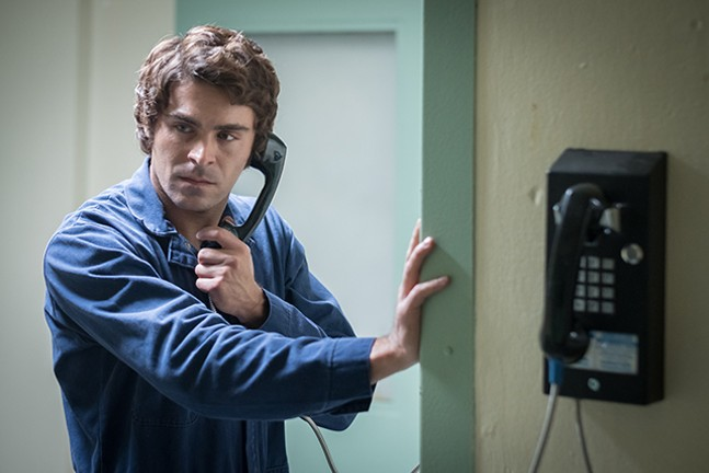 Zac Efron as Ted Bundy in Extremely Wicked, Shockingly Evil and Vile - NETFLIX/BRIAN DOUGLAS