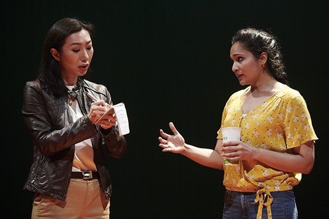 Jo Mei and Nilanjana Bose in We Are Among Us - PHOTO: KRISTI JAN HOOVER