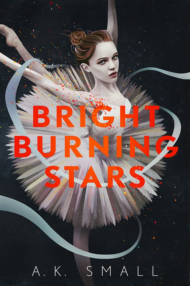 BRIGHT BURNING STARS BOOK COVER
