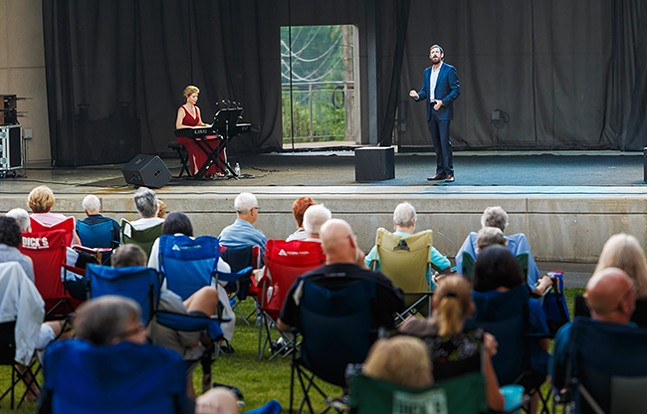 Pittsburgh Opera at Hartwood Acres - PHOTO: DAVID BACHMAN PHOTOGRAPHY
