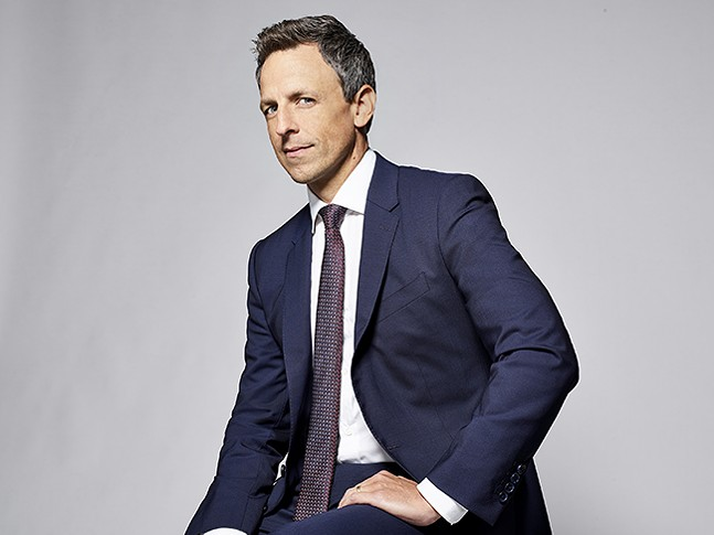 Seth Meyers - PHOTO: LLOYD BISHOP