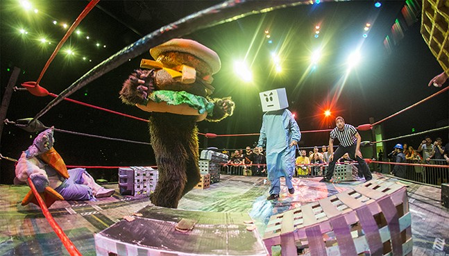 PHOTO: KAIJU BIG BATTEL/ANDY JONESKAIJU BIG BATTEL