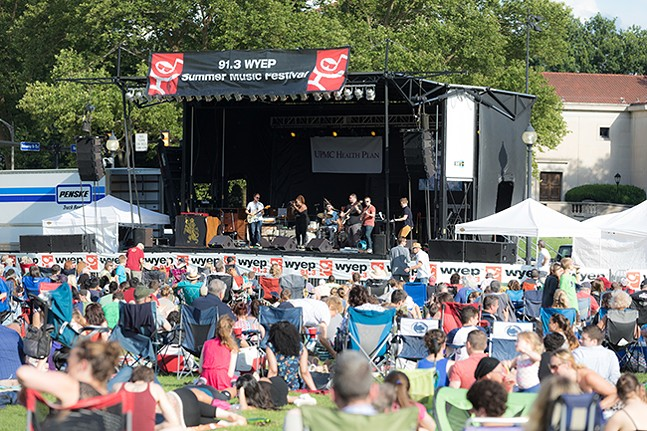 WYEP Music Fest - PHOTO: RENEE ROSENSTEEL
