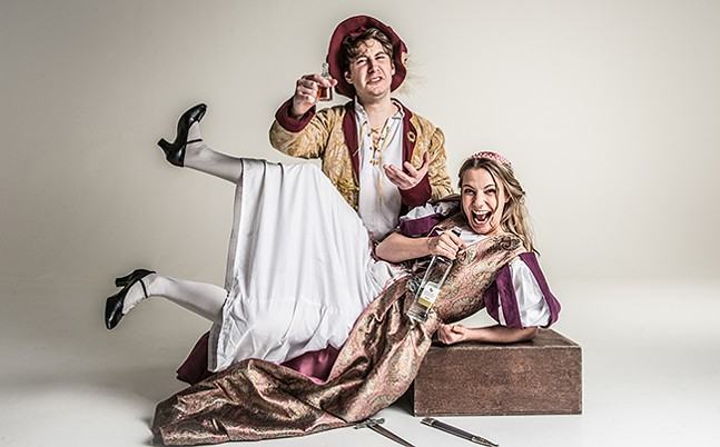 Sh!tfaced Shakespeare: Romeo and Juliet - PHOTO: RAH PETHERBRIDGE PHOTOGRAPHY